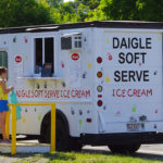 Daigle Soft Serve Ice Cream Truck in downtown Millinocket (Photograph: Thierry Bonneville)