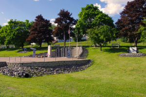 East Millinocket Veterans Memorial Park (Photograph: Thierry Bonneville)
