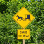 Share the Road Sign ( (Photograph: Thierry Bonneville)