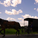 Amish buggy near Sherman Maine (Photograph: Thierry Bonneville)