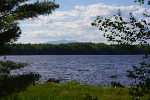 Dolby Pond near Millinocket Maine (Photograph: Thierry Bonneville)