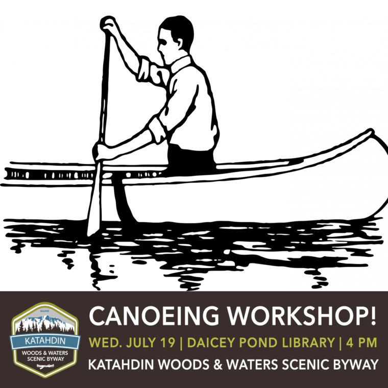Canoeing Workshop in Baxter State Park